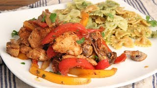 Chicken Stir Fry with Vegetables (Italian Style!)  Episode 1234