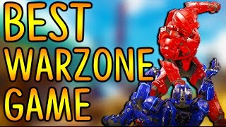 My BEST EVER Warzone Game! - 116 Kills + Unfrig - Halo 5 Guardians