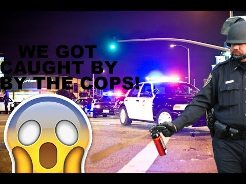THE FIRST VLOG | *SUPER CRINGE* | CAUGHT BY THE COPS!! | DAM-V