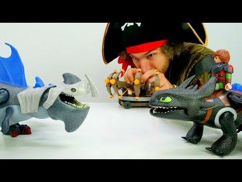 Игры для мальчиков – Иккинг и Пират Кейк - Как приручить дракона.