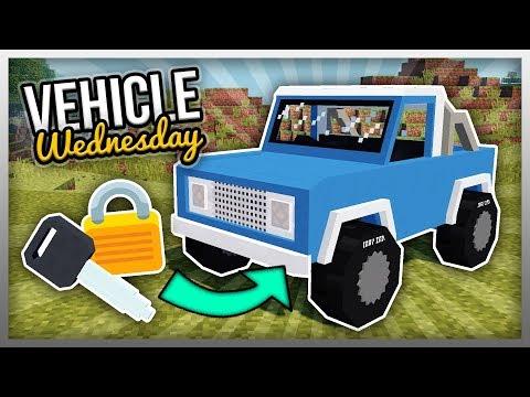 ✔️ MrCrayfish's Vehicle Mod: Key System (Vehicle Wednesday)