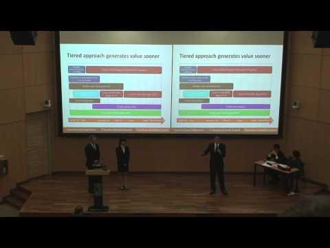 APEX Biz-IT 2013 Finalist - University of Minnesota (Carlson School of Management), Team Paradigm
