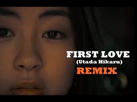Utada Hikaru- FIRST LOVE (REMIX) with LYRICS