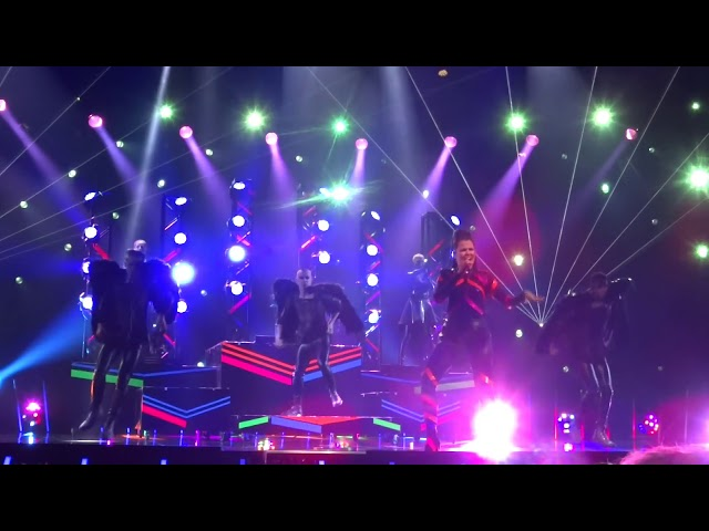 Saara Aalto - Monsters (Eurovision, Finland - 30 second clip from #UMK18 dress rehearsal)