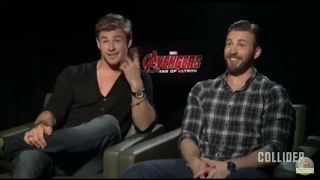 ◀HOT POTATOES▶ Benedict Cumberbatch, Chris Evans and Chris Hemsworth's Funny Videos -(4)