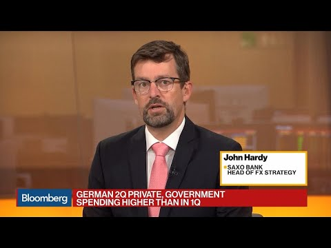 Saxo Bank's Hardy Expects Recession in Germany's Manufacturing Sector