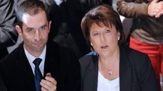 """Martine Aubry à Benoît Hamon : """"tu As Tout Simplement Redonné Vie à L'idée De Progrès"""""""