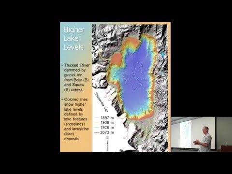 Geology and Glacial History of the Lake Tahoe Basin
