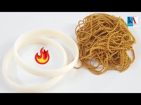 how-to-make-beautiful-silk-thread-bangles-with-gold-ball-chain-||-diy-||-kalpana-ambati