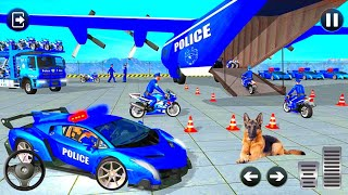 Real Police Car Transport Truck Game / Police Car Driving - Car Mobile (Android IOS) screenshot 2