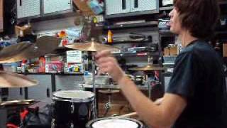 The Appleseed Cast - Steps and Numbers drum cover