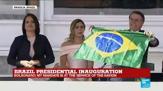 REPLAY - Watch Brazil's president Jair Bolsonaro's inaugural ceremony