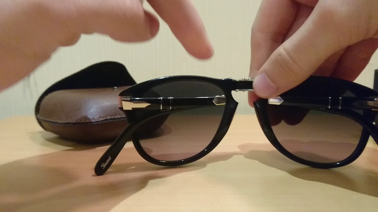 5856c69e9536 Persol 714-SM 95/71 Steve McQueen Special Edition Sunglasses Review ...