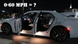 2018 Chrysler 300s 0-60 MPH?