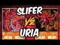 SLIFER vs URIA (Yu-gi-oh God Card Deck Duel!)