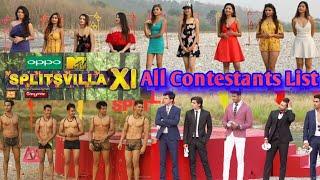 Splitsvilla 11: List of contestants of Sunny Leone and Rannvijay Singha's reality show.
