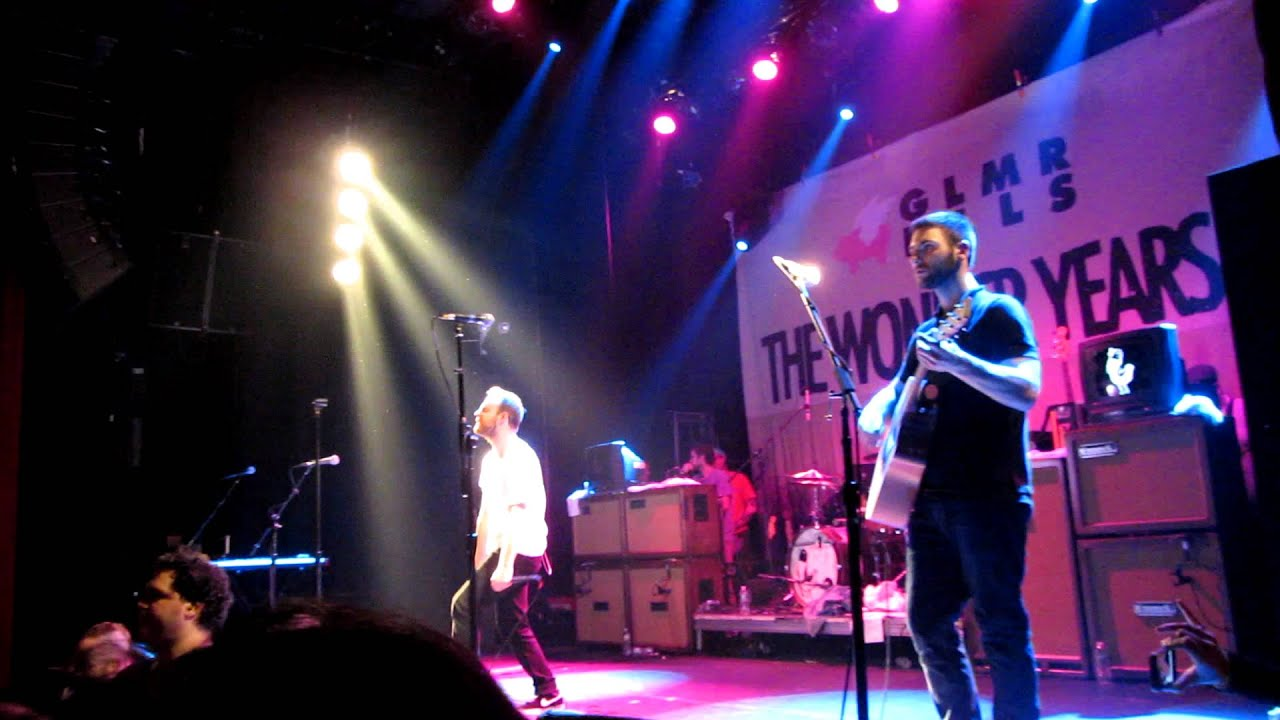 Living Room Song Live The Wonder Years Gramercy Theater Nyc Youtube