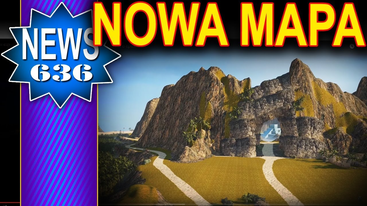 Nowa mapa – tropikalna wyspa – NEWS – World of Tanks