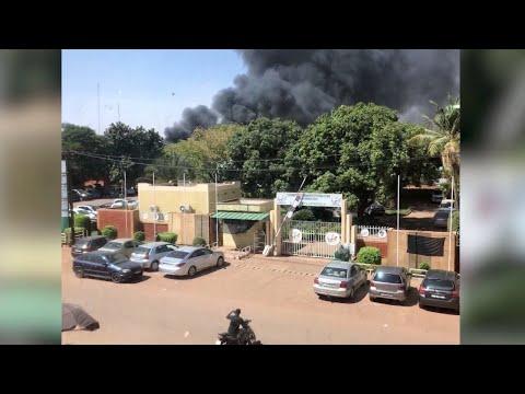 Attacks unfolding in Burkina Faso capital