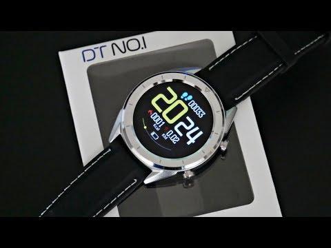 NO 1 DT28 Smart Fitness Watch - IP68 - ECG+Blood Pressure