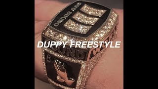 Drake - Duppy Freestyle (Kanye West & Pusha T Diss)