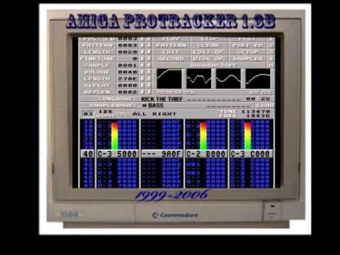 Amiga Protracker Music - Keef the thief