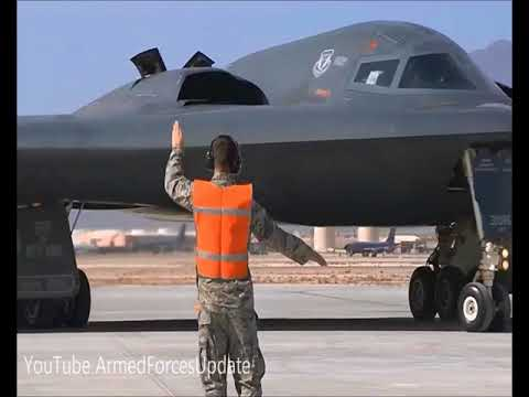 WARNING TO PUTIN !!! US Air Force B2 Bombers at UK Royal Air