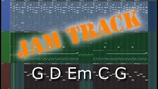 Guitar Jam Track G D Em C G