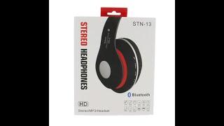 STN-13 Bluetooth fejhallgató