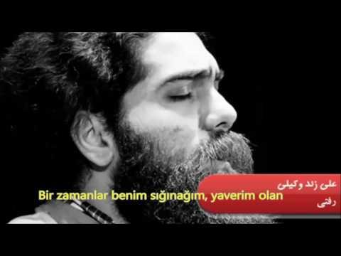 Farsça şarkı  Sen gittin  Refti