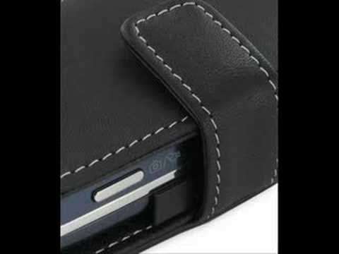 PDair Leather Case for Samsung Glyde SCH-U940 - Book Black