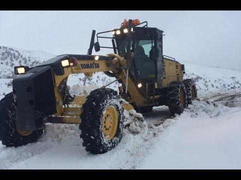 Adıyaman'da 207 yerleşim biriminin yolu kardan kapalı