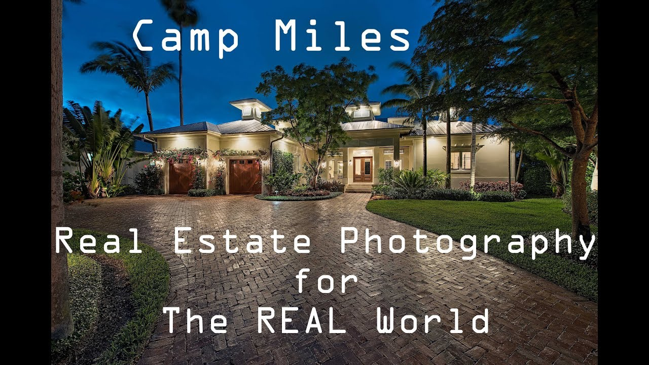 Real photography estate for