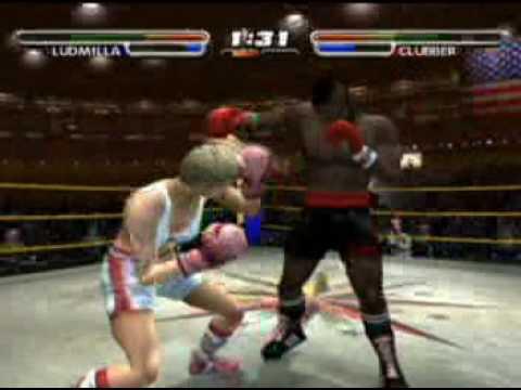 Erotic mixed boxing