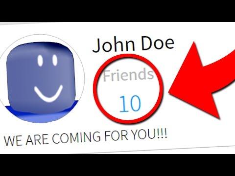 Do NOT Add John Doe on March 18th! (Roblox Secrets)