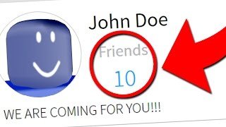 Do NOT Add John Doe on March 18th! (Roblox Secrets)