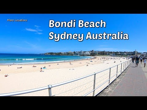 BONDI BEACH - Most Famous Beach In Sydney Australia