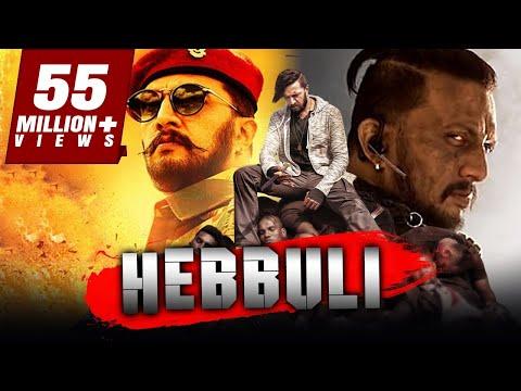 Hebbuli - Sudeep Action Blockbuster Hindi Dubbed Movie | Amala Paul, V. Ravichandran