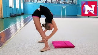 Gymnastics TRAINING by Miss Nicole // GYMNASTICS in Ukraine