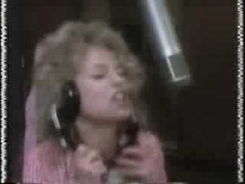 Dyan Cannon in the Studio