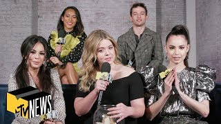 'Pretty Little Liars: The Perfectionists' Cast on Who They're Shipping & #Emison | Dive In