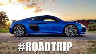Audi R8 V10 Plus - Germany ROADTRIP (60FPS)