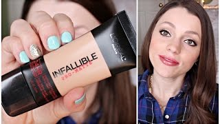 L'oreal Infallible Pro Matte Foundation Review & Demo | Should You Buy It? Thumbnail