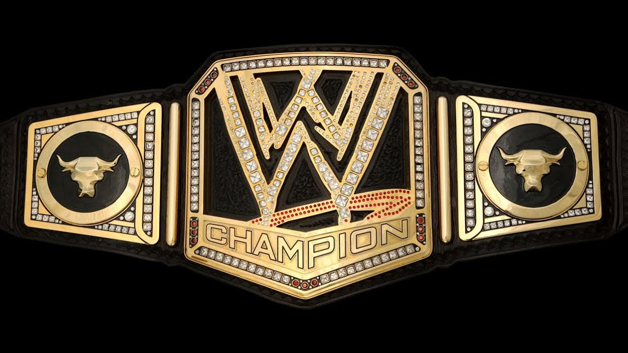 wwe championship belt template