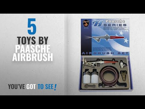 Top 10 Paasche Airbrush Toys [2018]: Paasche H-SET Single Action Siphon Feed Airbrush Set