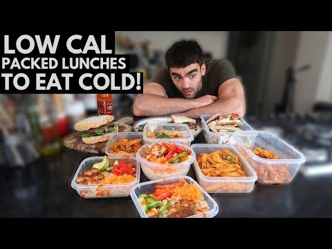 EASY Packed Lunch Ideas To Eat Cold  | FAT LOSS MEALS