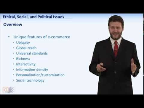 E-COM-101: Week7 - Ethical, Social, and Political Issues In E-commerce #SEU32