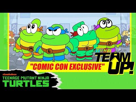 TMNT: Team Up! Comic-Con Exclusive | Teenage Mutant Ninja Turtles | Nick