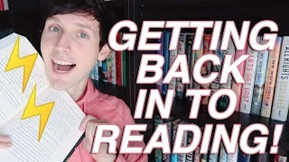 GETTING BACK INTO THE READING GAME | READER VLOG