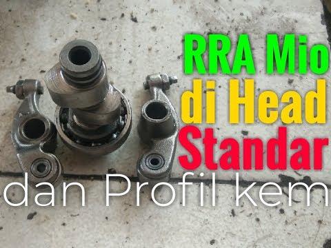 Proses Setting Platuk RRA Mio Dgn Klep Standar,dan Profile Kem Nya..